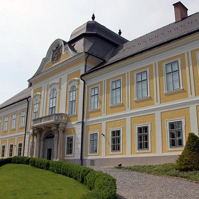 The museum building as seen from the main square.