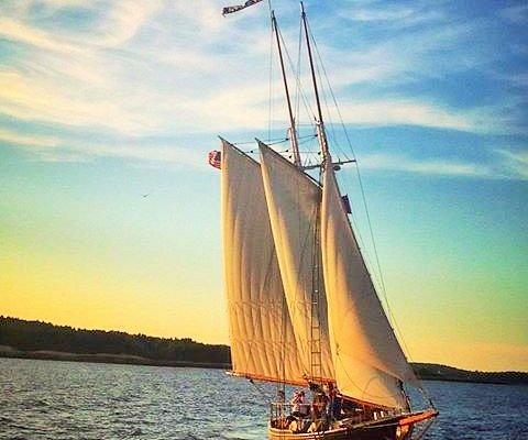 Sunset Sail on Lazy Jack