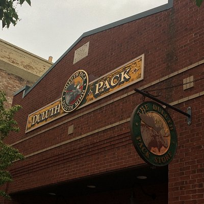 Duluth Pack near Canal Park