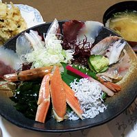 郷海丼 2100円