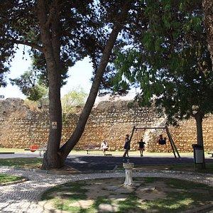 Castelo de Alvor. Vista general.