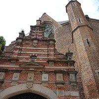 Westerkerk Enkhuizen(1470) met houten toren uit 1533
