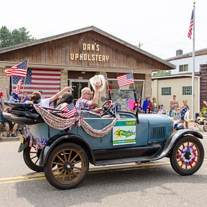 Americana at its best. Fourth of July parade 2015