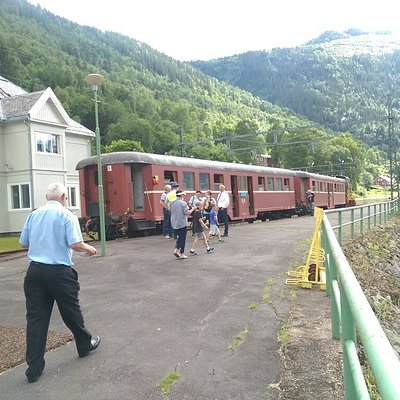 Wonderful museum railway; tuesday and friday in july, there are even trains to take!