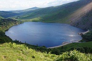 Beautiful view of Lough Tay (Guinness Lake)