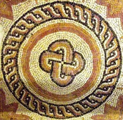 Mosaico romano - Aula Arqueológica de Aguilafuente
