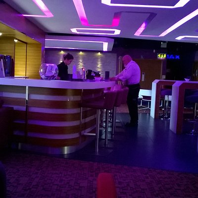 The bar at the Gallery