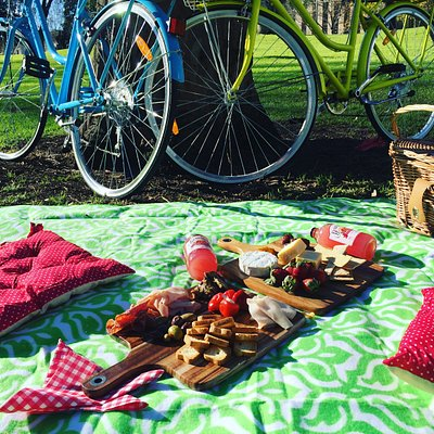 Picnicking and Biking