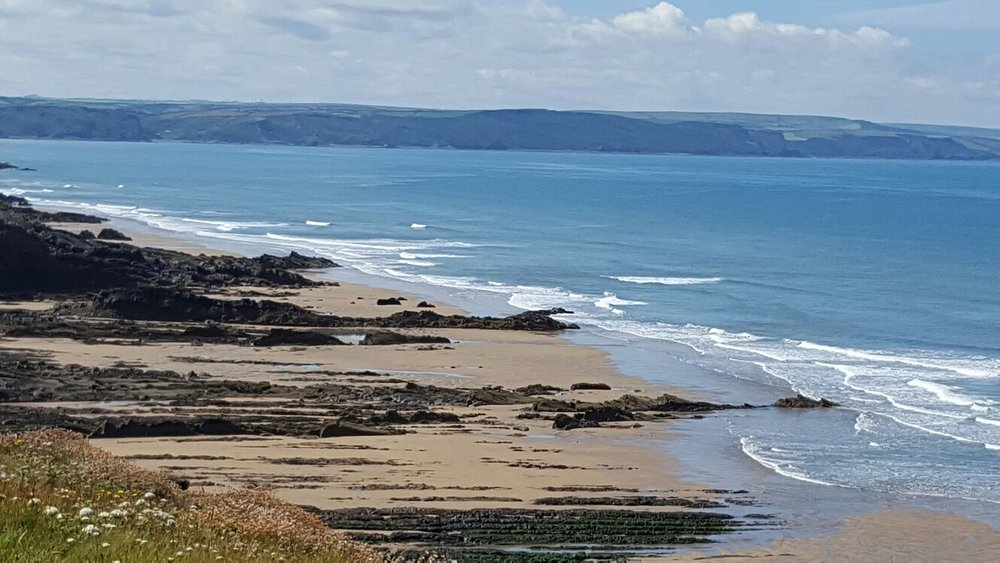 Northcott Mouth Beach July 2016