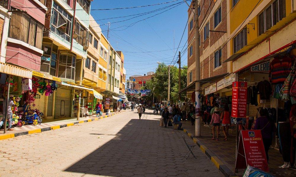 Calles de Villazón