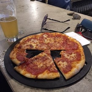 Pepperoni Pizza at the Bar