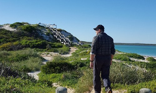Thirsty Point  - Cervantes - June 2016    The lookout is a short walk from the carpark