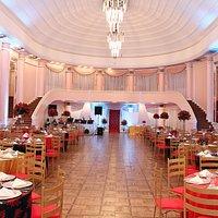 Decoração evento empresarial - Salão dos Espelhos - Clube do Comércio de Porto Alegre