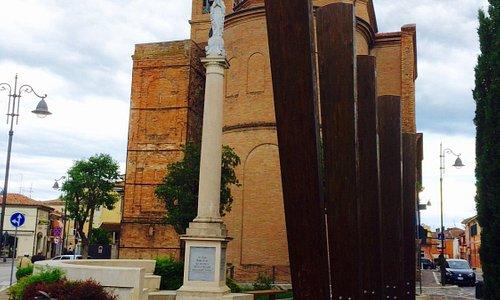 Центр города, носящего имя поэта Пасколи