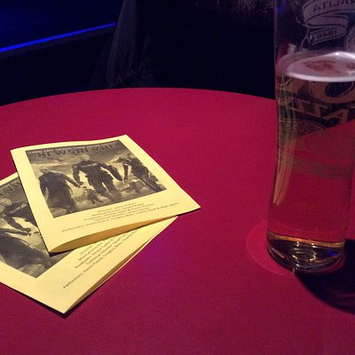 A pint and the program