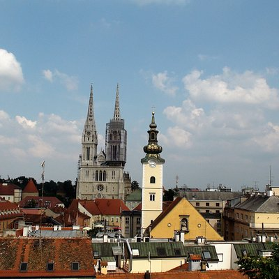 View of Zagreb