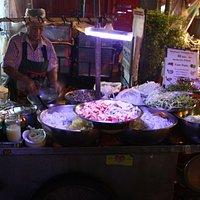Making Pad Thai on Soi Rambuttri