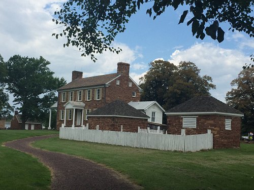 Photos of the House and Slave Quarters