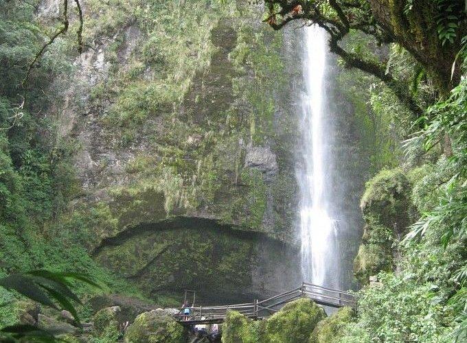 La primera cascada es impresionante tanta energía en este lugar !!!