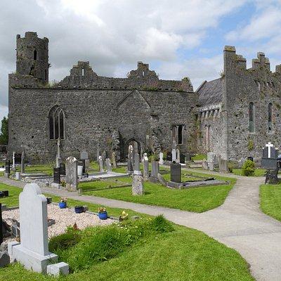 13th century Collegiate Church near the Kilmaloick museum