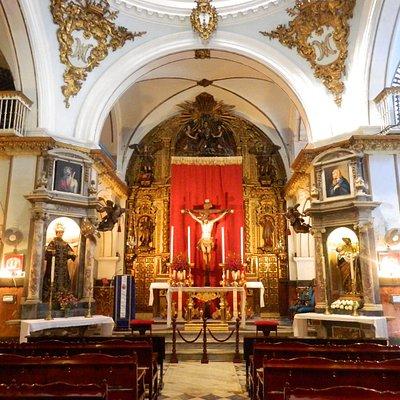 Altar Mayor  de la iglesia de San Juan de Dios