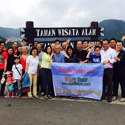 Group tour to bandung indonesia