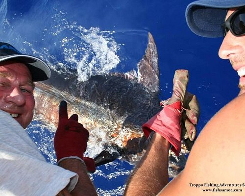 Releasing your blue marlin is a very special moment