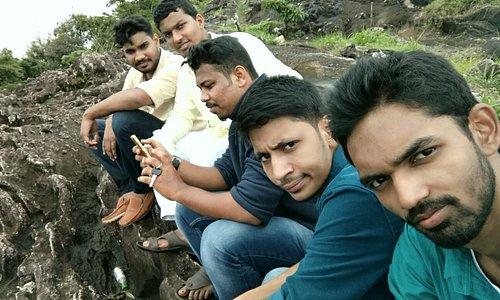 On the top Vayalada hill...#the gavi of Malabar Coooool ..with friends...