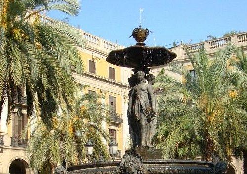 фонтан три грации