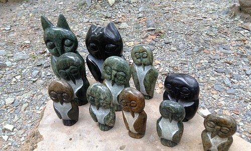 Sculptures at Tengenenge