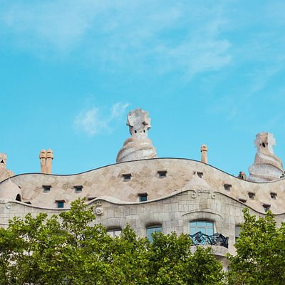 Gaudí's Casa Mila from our expert-led tour