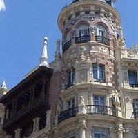 Casa de Allende at Plaza de Canalejas