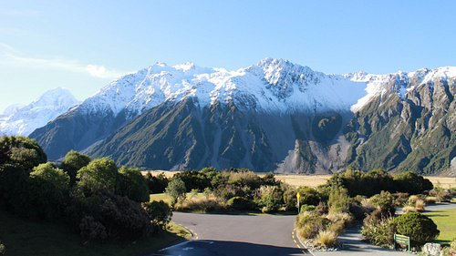 Mount Cook view from the Alpine Centre