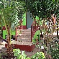 Neubau von neuen Bungalows  40 m von der Eingangstür bis zum Golf von Thailand