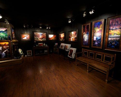 Inside the David J. West Gallery