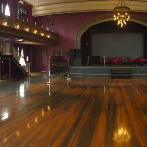 Before our private dance lessons, calm before the storm!