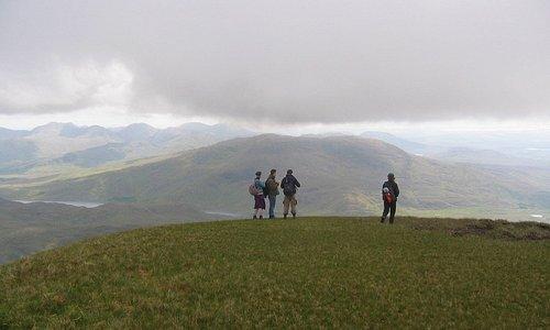 Mountain hiking with Walk Connemara