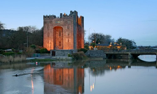 Bunratty Castle Sunset