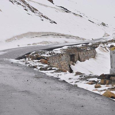 Road closed ahead