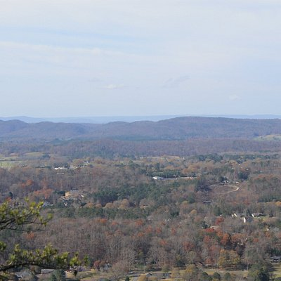 View from the top towards Chattanooga