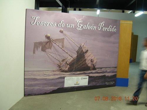 Manila Galleon exhibit entrance