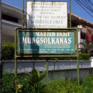 The board of location, at Jalan Cihampelas