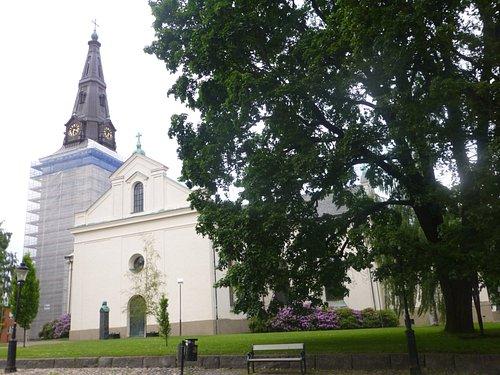 卡爾斯塔德僅有的古老的教堂