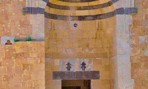 Al Burtasiyat Madrassa mosque Mamluk entrance, Tripoli, Lebanon