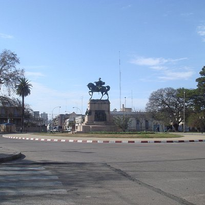 Vista de la Plaza Artigas