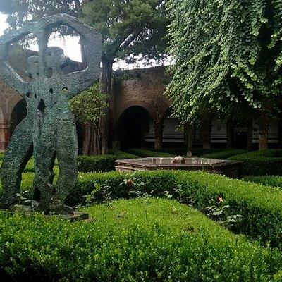 Jardín del conservatorio de las rosas