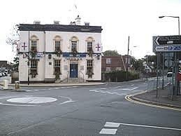 Great High Street pub, great sport and patio area.