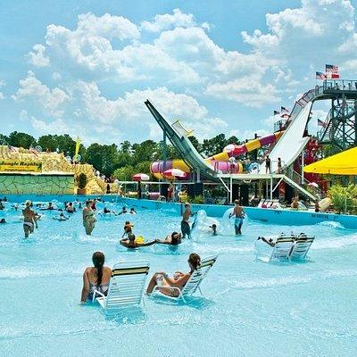 Million gallon wave pool
