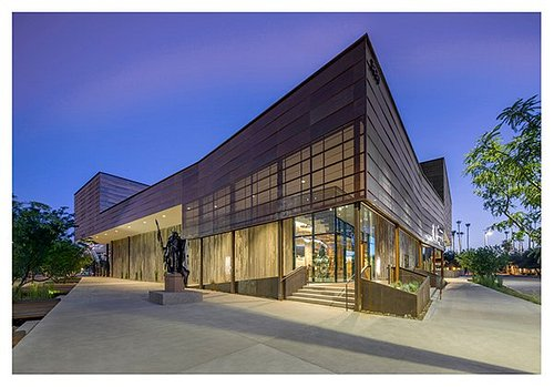 Entrance to Western Spirit: Scottsdale's Museum of the West (Photo by Bill Timmerman, Courtesy S