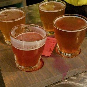 Sample Flight of Beer